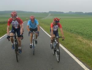 Matthias, Jean-Michel und Holger